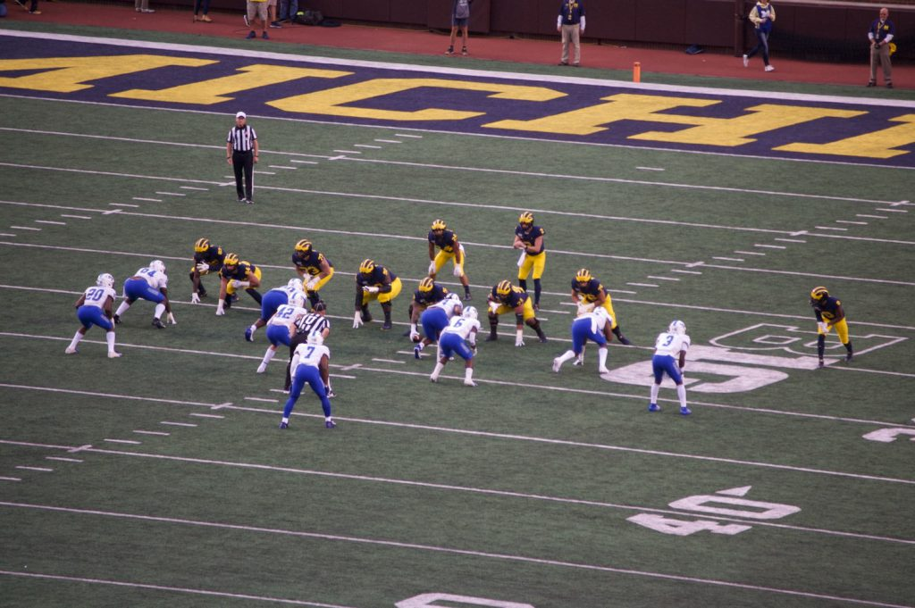 Middle Tennessee Blue Raiders at Michigan Wolverines